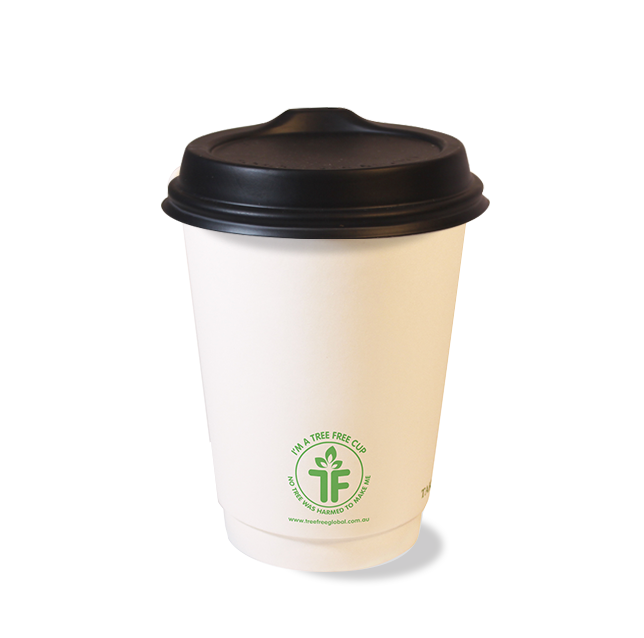 Tree Free - sustainable coffee cup lids